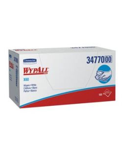 WYPALL L20 Wipers, Tan, 12½ x 14.4, Quarterfold, 68/bx, 12 bx/cs