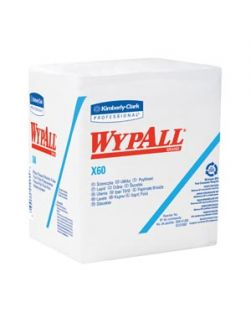 WYPALL L10 Windshield Towel, Blue, 9.3 x 10.25, 140/bx, 16 bx/cs