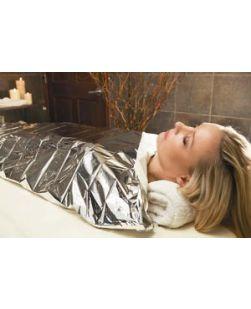 SpaEssentials® Blanket Mylar, 52 x 84 , Chrome, 3/bg, 16 bg/cs