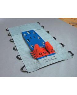 MegaMover® Plus w/ PowerGrips?, Gray/Black, 40 x 80, 8/cs