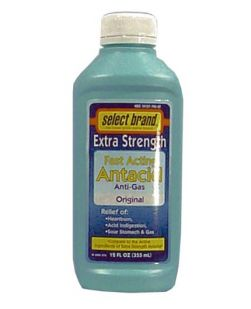 Antacid Anti-Gas D/S, Compare to the Active Ingredient of Extra Strength Mylanta®, 12 oz, 12/cs (UPC01512700061) (Continental US Only)