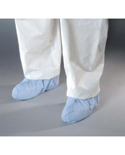 Shoe Cover, 2X-Large, Blue, Serged Seams, 150 pr/cs