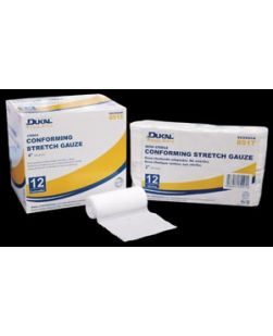 Stretch Gauze, 4 x 5 yds, Sterile, 1/pk, 24 pk/cs