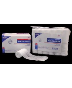 Gauze Rolls, Non-Sterile, 6-Ply, Bulk & Packed 12s, 4½ x 4.1 yds, 12/bx, 4 bx/cs (Continental US Only)
