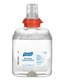 Surgical Scrub, Waterless, LTX 1200mL, Clear, 2/cs