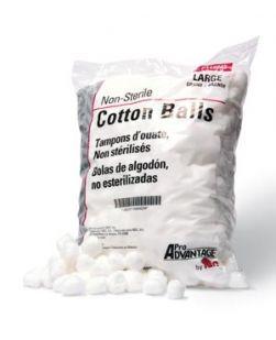 Cotton Ball, Large, 1000/bg, 2bg/cs (77 cs/plt)