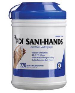 Instant Hand Sanitizing Wipe, 5 x 8, 100/bx, 10 bx/cs (63 cs/plt) (US Only)