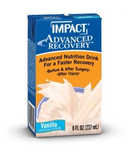 Impact®, 6 fl oz Tetra Brik® Paks, Vanilla, 15/cs (256 cs/plt) (Minimum Expiry Lead is 90 days)