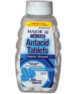Antacid, 2/pk, 125 pk/bx