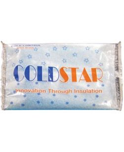Gel Pack, Hot/ Cold, Standard, Insulated One Side, 6 x 9, 24/cs (90 cs/plt)