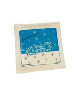 Cold Pack, Instant, Non-Insulated, 5 x 5 ½, First Aid Kit Size, Disposable, 80/cs (75 cs/plt)
