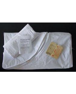 Post Mortem Bag, Curved Zipper, Adult, 3 Tags, 36 x 90, 10/cs