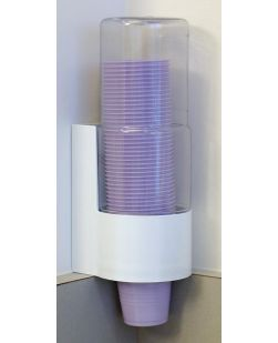 Dispenser For 3.5 & 5 oz Cups, 8/cs