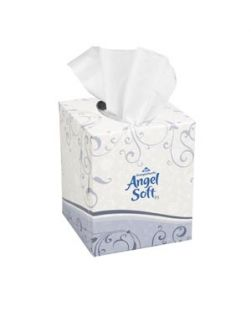 Facial Tissue, 7½ x 9, White, 2-Ply, Fluff-Out, 100/bx, 30 bx/cs (2930) (DROP SHIP ONLY)
