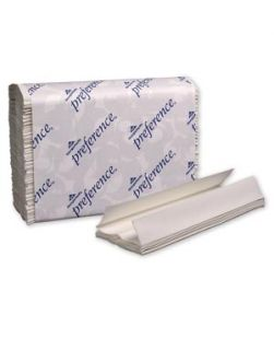 C-Fold Paper Towels, Paper Band, White, 10¼ x 13½ Sheets, 200 ct/pk, 12 pk/cs (40 cs/plt)