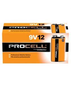 Battery, Alkaline, Size 9V, 12/bx (6/cs, 224 cs/plt) (UPC# 52748)
