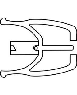 Clip Lock Cannula, Locking Cannula with Female Luer, DEHP & Latex Free (LF), 400/cs