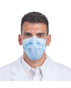 Antifog Mask, Blue, 400/cs