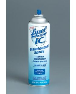 Disinfectant Spray, Fresh Scent, 19 oz, 12/cs (Item is considered HAZMAT and cannot ship via Air or to AK, GU, HI, PR, VI)
