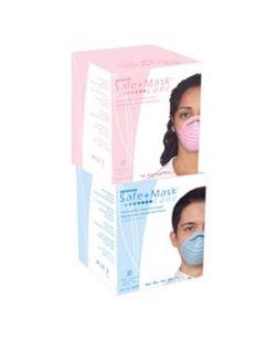 Cone Mask, Pink, 50/bx, 12 bx/cs