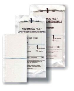 Abdominal Pad, 12 x 10, Non-Sterile, Bulk, 288/cs (Continental US Only)