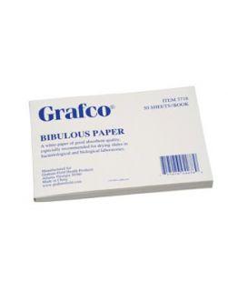 Bibulous Paper, 4 x 6, 50/book, 6 bk/pk