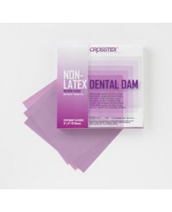 Dental Dam, 5 x 5, Medium Gauge, Unscented, Blue, 52bx, 6 bx/cs (Not Available for sale into Canada)