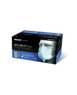 Earloop Mask, Blue, 50/bx, 10 bx/ctn