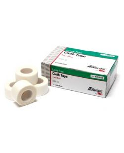 Cloth Tape, 1 x 10 yds, 12/bx, 12 bx/cs (90 cs/plt)