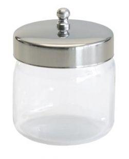 Dressing Jar & Cover, 3 x 3, 12/cs