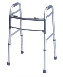 Folding Walker, 5 Wheels, Adult, 2/cs