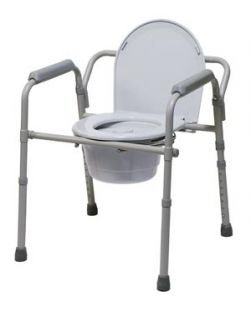 Folding Commode, 4/cs