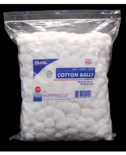Cotton Balls, Large, 1000/bg, 2 bg/cs