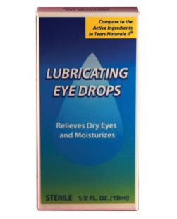 Natural Tears Eye Drops, 0.5 oz, Compared to Active Ingredients in Tears Naturale® II, 48/cs (Not Available for sale into Canada) **Temporarily Unavailable for Sale**