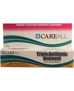 Triple Antibiotic Ointment, .5 gm., 25/bx