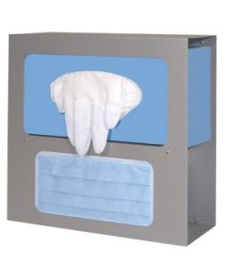 Dental Bib, 13 x 18, 3-Ply Paper + 1-Ply Poly, Blue, 500/cs (48 cs/plt) (Not Available for sale into Canada)