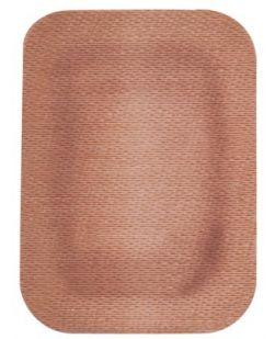 Adhesive Bandage, 2 x 3, Patch, Perforated, Bulk, 3000/cs