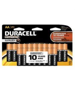 Battery, Alkaline, Size AA, Doublewide, 20pk, 12 pk/cs (UPC# 00053)