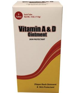 Vitamins A&D Ointment, 5g Sachet, 144/bx, 6 bx/cs
