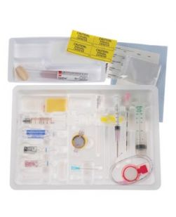 Continuous Epidural Tray, 18G x 3½ Tuohy Needle, 20G Closed Tip Catheter & DuraPrep Surgical Solution (Rx), 10/cs