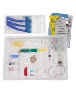 Continuous Epidural Tray, 18G x 3½ Tuohy Needle, 20G Closed Tip Catheter & 8cc Luer Slip PERIFIX Plastic LOR Syringe (Rx), 10/cs