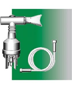 7 ft Oxygen Tubing, T Piece & Mouthpiece, Single Patient Use, 50/bx