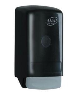 Flex Dispenser, Model 28, 800 ml Liquid Soap, Black, 6/cs