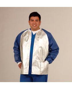 Jacket, Large, Silver, 25/cs