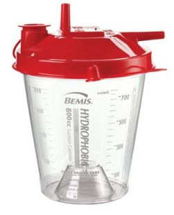 Suction Canister, 800cc, 100/cs