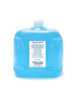 Ultrasound Gel, Blue, 5L. (with 4 Empty Dispenser Bottles), Cube, 4/cs