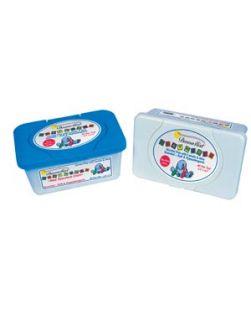 Baby Wipes, Embossed, Premium, 6½ x 8½, 40/tub, 24 tub/cs