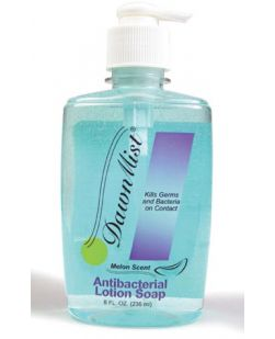Lotion Soap, Antibacterial 8 oz, Pump Bottle, 12/cs (Not Available for sale into Canada)