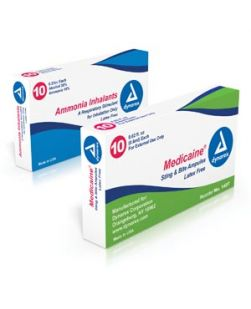 Ammonia Inhalants 0.33cc, 10/bx