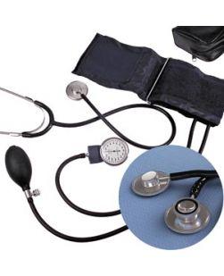 Blood Pressure Kit, Dual Head Stethoscope, 10/cs